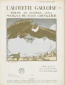 L'Alouette gauloise. Poème de Maurice Léna, musique de Jules Chevallier