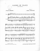 Clochés de France. Chant patriotique, paroles de Clément Rosset, musique de Jacques Chanaud