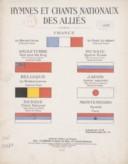 Hymnes et chants nationaux des alliés