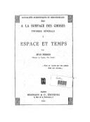 Espace et temps / par Jean Perrin,...