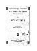 Relativité / par Jean Perrin