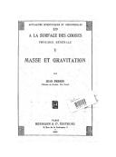 Masse et gravitation / par Jean Perrin,...