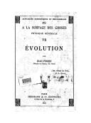 Evolution / par Jean Perrin,...