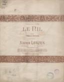Le Nil. N° 2 [Chant et piano] avec accompagnement de violon. Poésie de Armand Renaud. Musique de Xavier Leroux