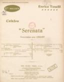 "Célèbre ""Serenata"". English words by John Urich, pour ténor ou soprano. Chant et piano"