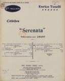 "Célèbre ""Serenata"" (Spielmanns Lied). Worte von Carl Böhm. A, en mi majeur, ténor ou soprano. Chant et piano"