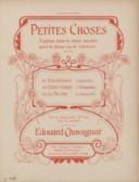 Petites choses. 1, Tricoteuses : gavotte [pour] piano : op. 217, n° 1 / Edouard Chavagnat ; [orn. par Barabandy]