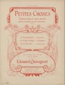 Petites choses. 3, Le tic-tac : courante [pour] piano : op. 217, n° 3 / Edouard Chavagnat ; [orn. par Barabandy]