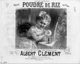 Poudre de riz : valse pour piano / Albert Clément ; [ill. par] Chatinière