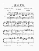 Choix de mélodies. 19, Le roi d'Ys : choix de mélodies. Suite II / transcrites pour le piano par Cramer ; [d'après l']opéra en trois actes et quatre tableaux de Ed. Lalo ; [orn. par Æ]