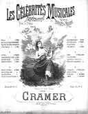 Les célébrités musicales : transcriptions pour le piano réunies en bouquets de mélodies : [2ème série]. N° 1 / par Cramer ; [ill. par] P. Borie