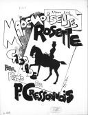 Mademoiselle Rosette : galopade pour piano / par P. Cressonnois ; [ill. par] Caran d'Ache