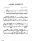Oeuvres posthumes de Frédéric Crimail. 2, Danse ancienne : piano : [op. 6] / Frédéric Crimail