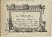 Partie III contenant trois sonates pour le clavecin ou piano forte...