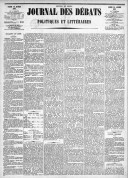 Le Journal des Débats politiques et littéraires - 1885-01-10