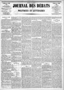 Le Journal des Débats politiques et littéraires - 1885-01-16