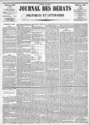 Le Journal des Débats politiques et littéraires - 1885-01-18