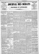 Le Journal des Débats politiques et littéraires - 1885-01-28