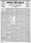 Le Journal des Débats politiques et littéraires - 1885-02-07