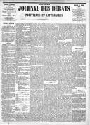 Le Journal des Débats politiques et littéraires - 1885-02-15