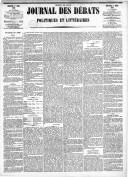 Le Journal des Débats politiques et littéraires - 1885-03-01