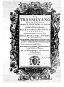Il transilvano Dialogo sopra il vero modo di sonar : organi & istromenti da penna. 1 / del R. P. Girolamo Diruta,...