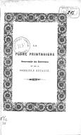 La Flore printanière. Souvenir du berceau et de la première enfance, par Eugène Alcan