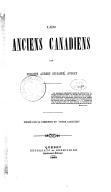 Les Anciens Canadiens, par Philippe Aubert de Gaspé,...