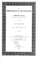 Les principaux ouvrages de Chrétien Rauch, statuaire de S.M. le Roi de Prusse / avec un texte explicatif de G. F. Waagen...