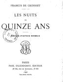 Les nuits de quinze ans / Francis de Croisset ; préface d'Octave Mirbeau