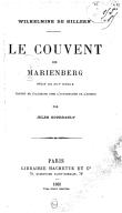 Le couvent de Marienberg : récit du XIIIe siècle / Wilhelmine de Hillern ; traduit de l'allemand... par Jules Gourdault