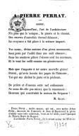 A Pierre Perrat : sonnet / [signé : M. Alcan]
