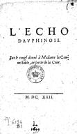 L'écho dauphinois, sur le congé donné à Madame la Connestable de sortir de la cour
