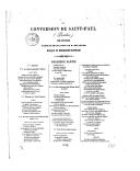 La conversion de Saint-Paul (Paulus) : oratorio / paroles françaises de M. Bélanger ; musique de Mendelssohn-Bartholdi