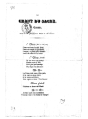 Le chant du sacre : cantate / paroles de M. Gentilhomme ; musique de M. Lesueur
