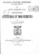 """Nouvelle anatomie artistique du corps humain. Cours supérieur (""""suite""""). Physiologie. Attitudes et mouvements / par le Dr Paul Richer,..."""