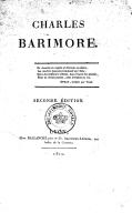 Charles Barimore (2e éd.) / [par le Cte A. de Forbin]