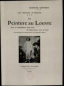 Les musées d'Europe. 6, La peinture au Louvre... / Gustave Geffroy ; couverture et ornements de Georges Auriol