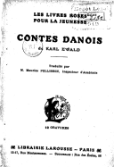 Contes danois / de Karl Ewald ; traduits par M. Maurice Pellisson
