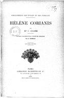 Hélène Corianis (2e édition) / par Mme C. Colomb ; ouvrage illustré de 80 vignettes dessinées par A. Moreau