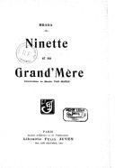 Ninette et sa grand'mère / Brada ; illustrations de Martin Van Maële