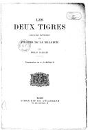 """Les deux tigres : second épisode des """"Pirates de la Malaisie"""" / par Emilio Salgari ; traduction de J. Fargeau"""