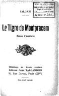 Le tigre de Montpracem : roman d'aventures / Salgari