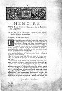 Mémoire pour le syndic général de la province de Languedoc contre M. le duc d'Uzès, le sieur Flauart et l'Inspecteur général du Domaine en présence de la dame Vve Baguet