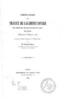 Compte rendu des travaux de l'Académie de Lyon