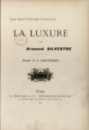Les Sept péchés capitaux. La luxure, par Armand Silvestre...