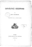 Constance Sherwood / par Lady Fullerton ; adapté par A. Chevalier