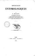 Opuscules entomologiques. 1 / par E. Mulsant...
