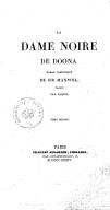 La Dame noire de Doona, roman historique de Sir Maxwell, traduit par Paquis. Tome 2