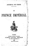 Journal de Fidus. Le prince impérial